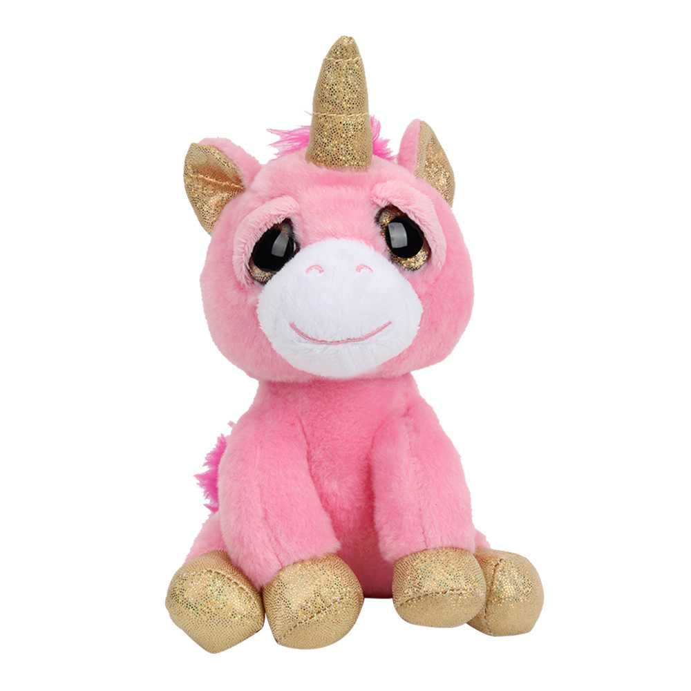 Quality lovely pink Pegasus the Unicorn Plush Stuffed Animals Collection Children's Gifts 18cm animals birthday Christmas Gifts велосипед pegasus piazza gent 7 sp 28 2016