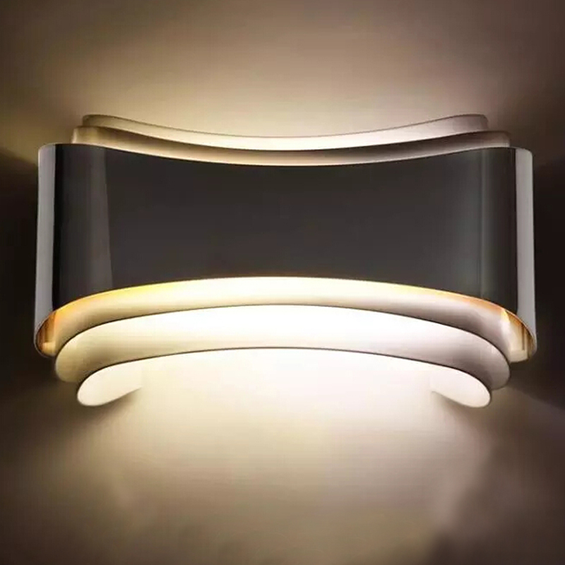 5W Modern Iron LED Wall Lights bulb lamp 220V decorative home decor restroom bathroom bedroom reading wall lamp hotel lamp light
