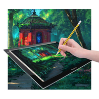 Promotion GAOMON Light Pad Lighting Boxes LED Tracing Boards Professional Animation Drawing Tracing Panel Free Shipping