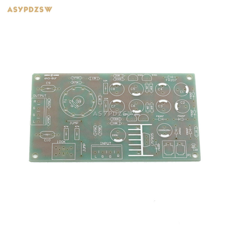 6N3(<font><b>5670</b></font>) <font><b>Tube</b></font> buffer Audio Preamplifier Pre AMP PCB For DIY Amplifier bare PCB image