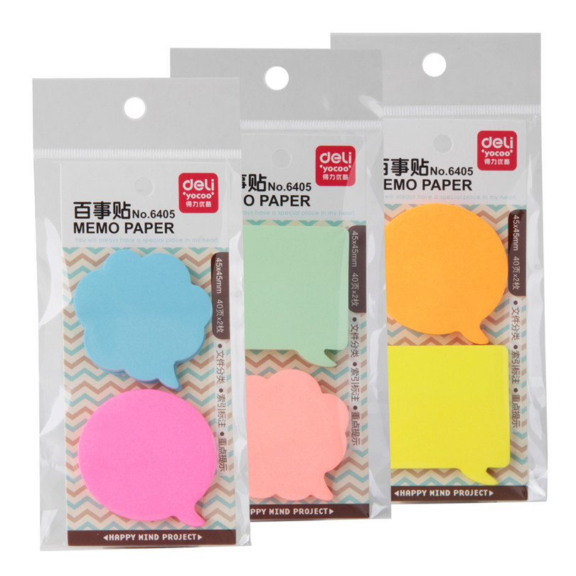 3 Kind Memo Pads Stickers Zelfklevende Zelfklevende Memoblaadjes Elk - Notitieblokken en schrijfblokken bedrukken - Foto 4