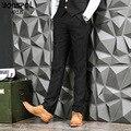 BONSPOL бренды 2016 новых мужских досуг брюки бизнес нет железа мужчины костюм брюки прямые ноги брюки мужские бизнес Случайные Штаны