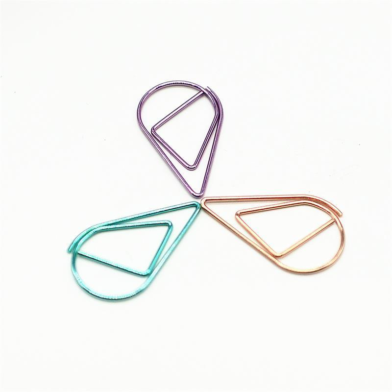 Free shipping 25 mm small size clip in extensions mini clips  office and school stationery