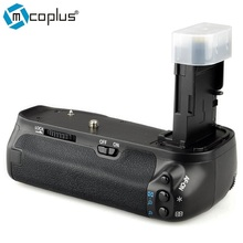 Mcoplus bg-6d vertical holder battery grip para canon eos 6d dslr cámara reemplazar como meike bg-e13 mk-6d trabaja con lp-e6