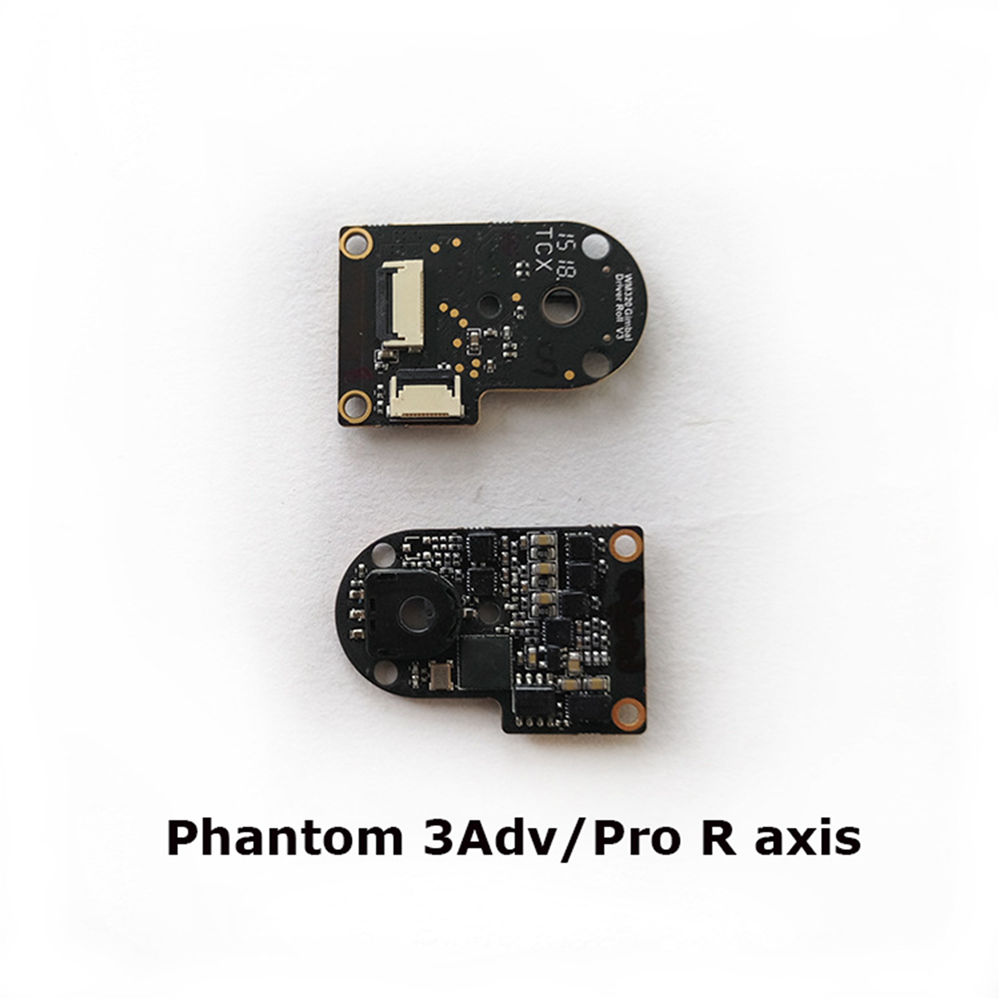 R Axis/P Axis Roll Motor ESC Chip Circuit Board For DJI Phantom 3 Sta/SE/Adv/Pro Gimbal Professional Board Drone Accessorie USED