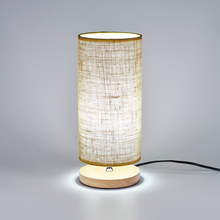 Nordic LOFT Table Lights Fabric Wood LED Table Lamp Bedroom Bedside Desk Lamp Living Room Study Desk Lights Lighting Decoration simple e27 crystal led table lamp indoor living study room bedroom bedside lighting hotel restaurant desktop decoration lights