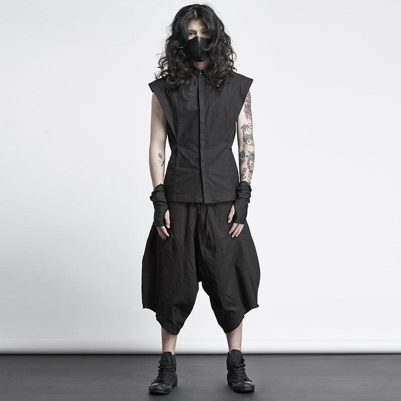Coupe Plus Gd Cheveux Costumes 46 Rue Sarouel Taille Hommes Nouveaux De Styliste 27 La D'origine Noir 2018 Mode Stéréoscopique Vêtements EH9D2IW