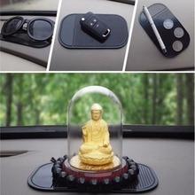 Araba gadget anti slip mat oto araç İç dashboard cep telefonları kaymaz ped otomobiller mobilephone sihirli yapışkan mat 14*8 cm