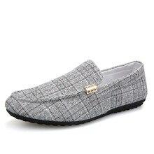 Men Casual Shoes Spring Summer Men Loafers New Slip On Light Canvas Youth Men Shoes Breathable Fashion Flat Footwear Yasilaiya цена в Москве и Питере