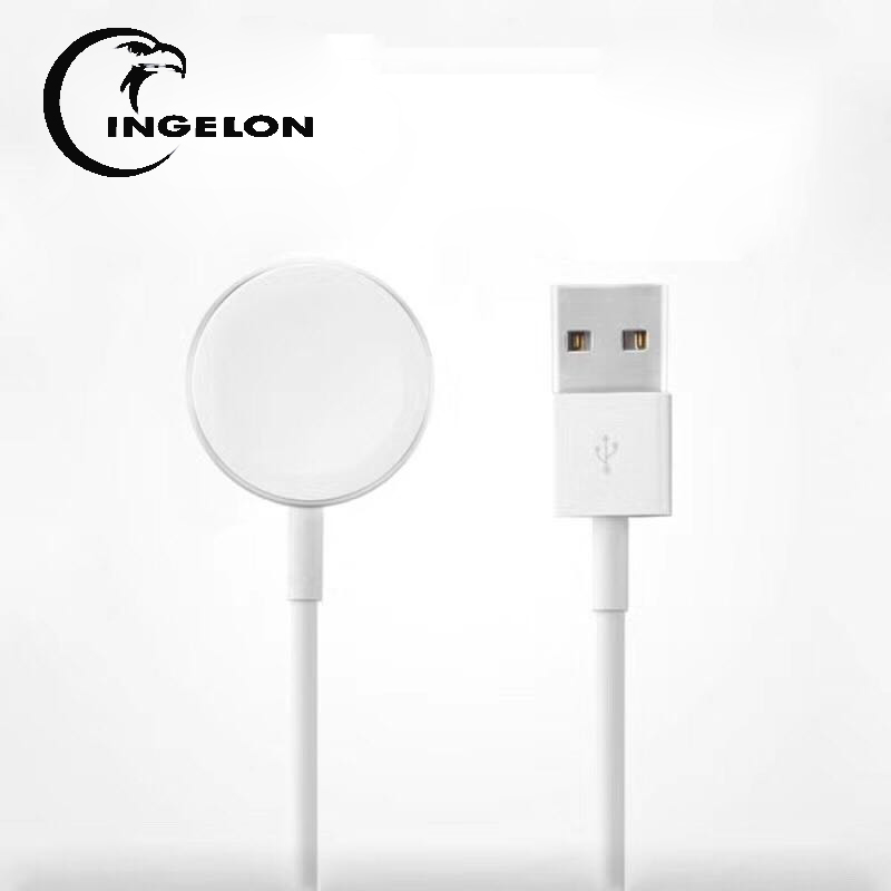 Original Ingelon Wireless Charger USB White Color MFi Certified Magnetic Charging Cable for Apple Watch Series 1,2,3 Charger