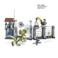 Dinosaurs Toys T Rex Compatible legoINGly Jurassic World 2 Sets Blocks Building Animals Model Brick Figures For kids gift