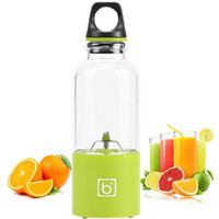 500ML Portable Juicer USB Rechargeable Electric Automatic Vegetables Fruit Juice Milk Blender Mixer Shake Mixer Water Bottle