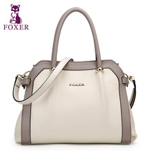 FOXER МАРКА Женщины Кожа сумка и Hangbags женская Сумка Bolsa Сак Главная Femme De Marque Celebre