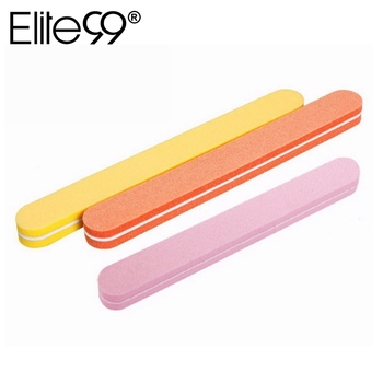 Elite99 1 stücke Nagel Datei Puffer 3 Farbe Für Gewählt Schleifen Dateien Zubehör Nail art Werkzeug Salon Mode Maniküre Pediküre werkzeuge