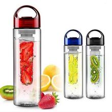 700ML Flesh Fruit infuser infusing Water font b Bottle b font Sports Health Lemon Juice Make