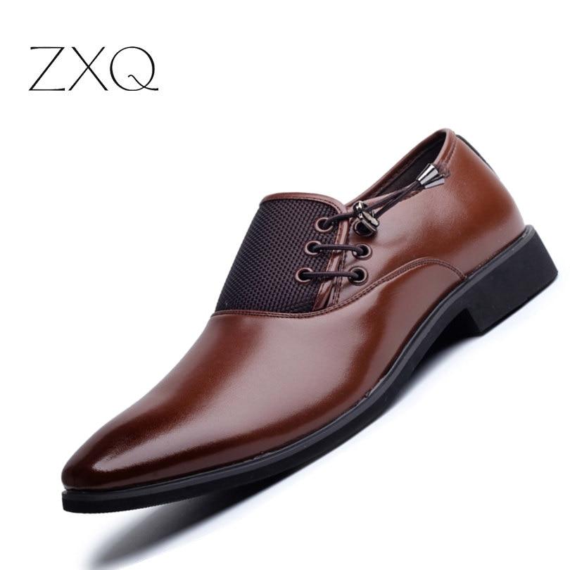 Hot Sale font b Men b font Classic Business Oxford font b Shoes b font Luxury