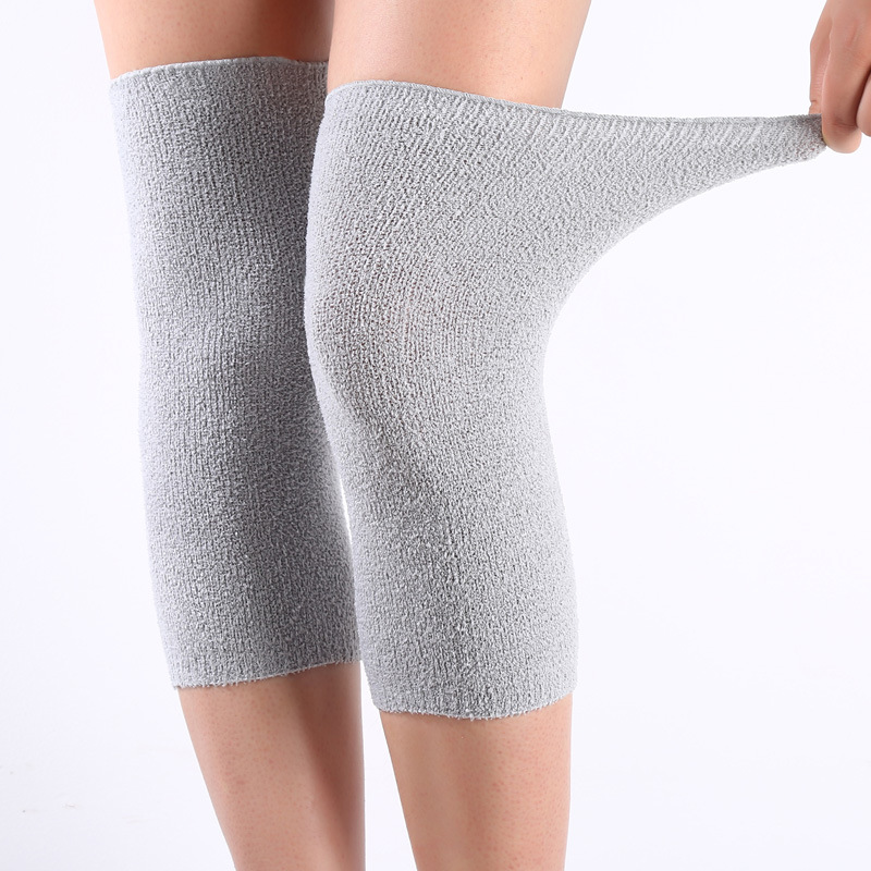 Women's Warm Knee Kneepad Slim Knee Protector Room Outdoor Breathable Knee Compression Sleeve Thermal Knee Pads To Keep Warm