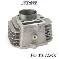Motorcycle YX125 Engine Aluminium Barrel Bore Cylinder body YX 125CC Engine part