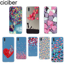 ciciber Balloon Love For Huawei P20 P10 P9 P8 P20 Pro P20 Lite P10 Plus P8 Lite 2017 Soft TPU Silicone Clear Coque Phone Cases greys anatomy you are my person transparent soft tpu silicone phone cases cover for huawei ascend p8 p9 p10 p20lite p10 p20plus