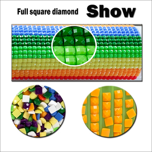 """Image 4 - 5pcs Full Square Drill 5D DIY Diamond Painting lily """"colourful flower"""" Multi picture Combination 3D Embroidery Mosaic Decor"""