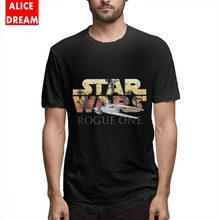 Star wars t shirt Mens O-neck Rogue One UWing Tee 2019 Pure Cotton Big Size T-shirt Resistance Squadron Tees