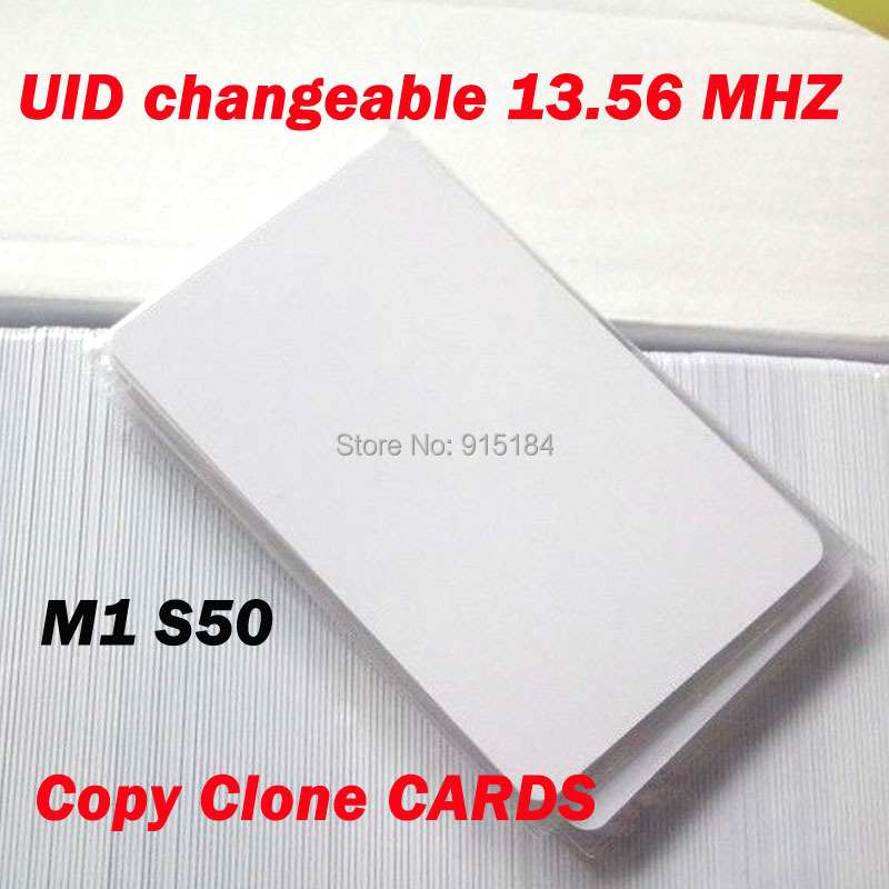 Initiative Uid Changeable Card Rfid 13.56mhz Iso14443a Block 0 Sector Zero Writable Hf Copy Clone Mf1 1k S50 Support Libnfc Nfc Cracker Access Control