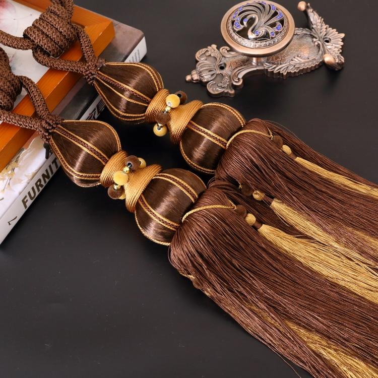 ᗚ1 paar hoogwaardige Thuis Decoratie gordijn clips accessoires ...