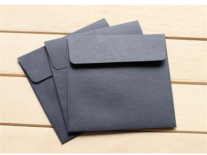 50 шт./лот бумажные конверты романтический пустой