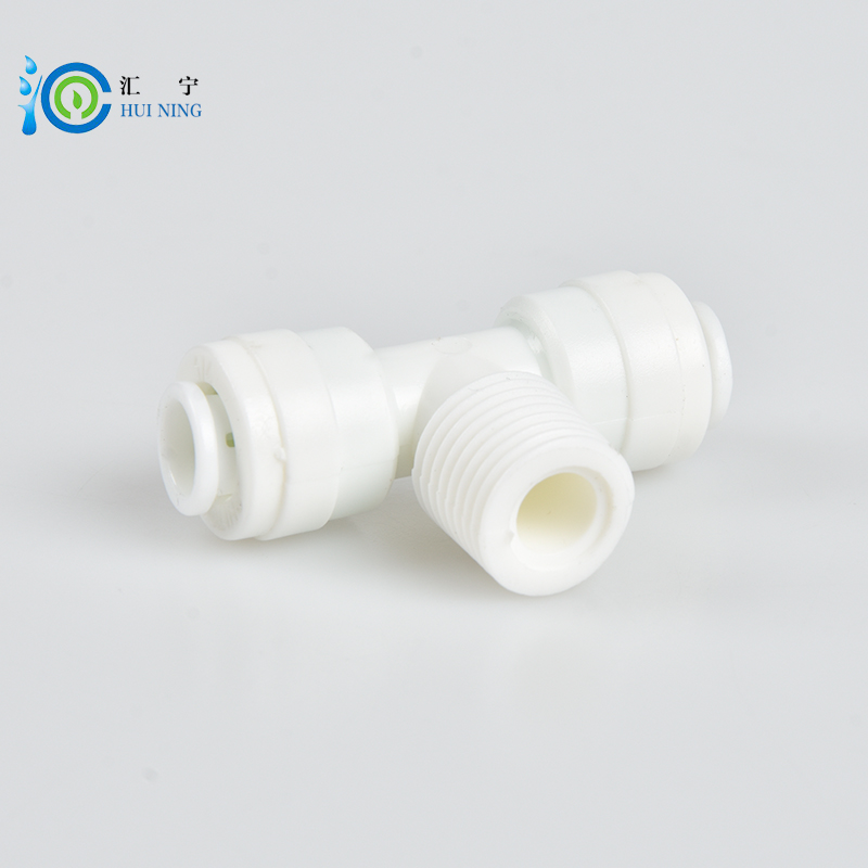 Free Shipping 5pcs/lot 1/4inch tube water filter connector Male tee adapter quick adapter connector 5pcs lot free shipping ad579jn ad579ln ad579kn ad579 dip new 5cs lot ic