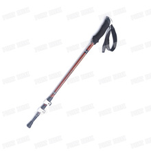 Cheap price POINT BREAK ABD8017 Ultralight 7075 Aluminum Alloy Walking Stick Adjustable Telescopic Alpenstock Carbon Trekking Pole
