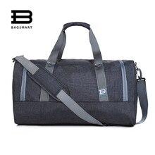5253fe303598 BAGSMART Новый дорожная сумка большая Ёмкость Для мужчин ручной Чемодан  Путешествия Duffle Сумки нейлон выходные Сумки