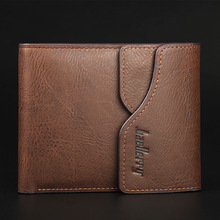 2015 Men Wallets Brand Famous Genuine Leather Mens Purse Short Style Bifold Men's Wallet Male Money Bag Card Holder   все цены