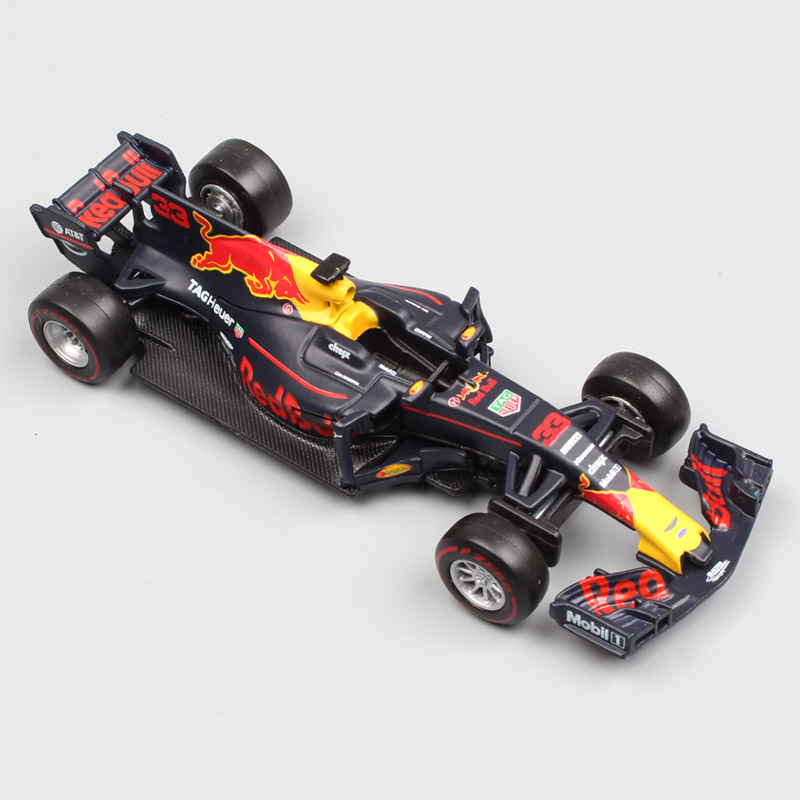 1:43 Scale 2017 F1 formula 1 Red Bull Racing TAG Henuer RB13 RB12 racer No.33 Max Verstappen No3 Daniel diecast car model toy