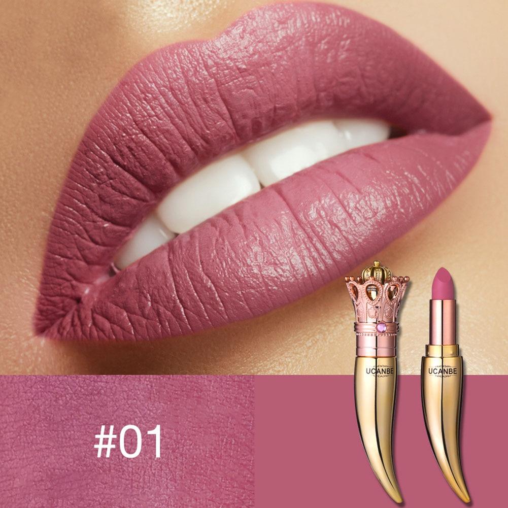 Губная помада стойкая матовая королевская стильная Косметическая портативная Мода для женщин@ ME88 - Цвет: 1