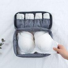 Multi função saco de armazenamento sutiã cueca viagem saco de armazenamento feixe cueca acabamento ba catiônicos cueca saco de viagem à prova d água