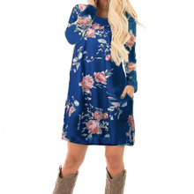 Floral Printed Tunic Dress