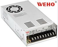 China good quality 400W camera 12V33A switch power supply with power type LED lamp S 400 12