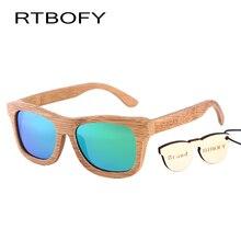 New fashion Women Glass Bamboo Sunglasses au Retro Vintage Wood Lens Wooden Frame Handmade.2140