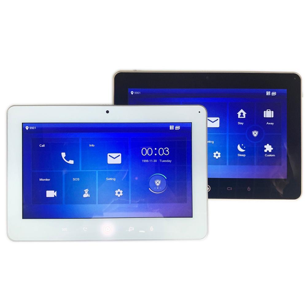 Logotipo Multi-Idioma VTH5241D DH/DW 10 polegada Monitor Interno, Build-in Wi-fi e câmera, IP campainha, Vídeo Porteiro, campainha com fio