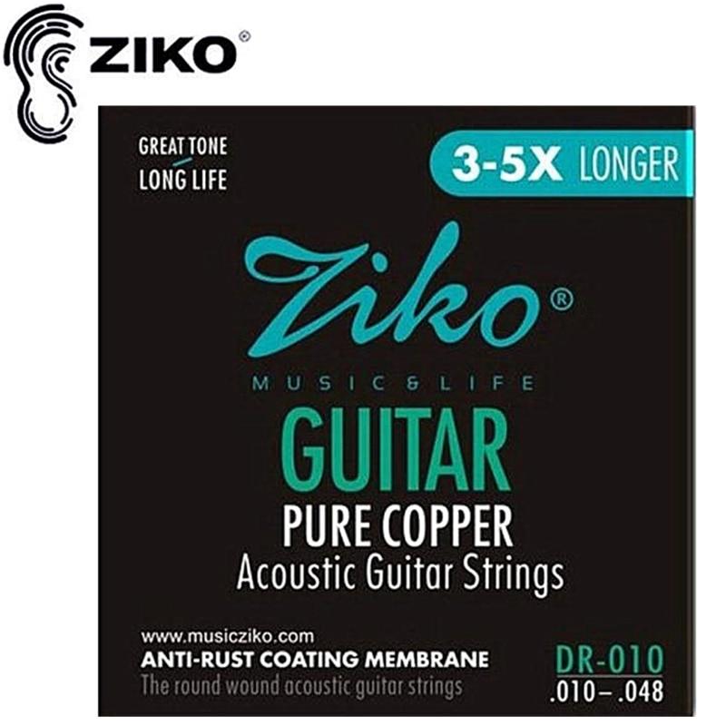 010-047 DISADO D1002 Akustinės gitaros stygos muzikos instrumentai - Muzikos instrumentai