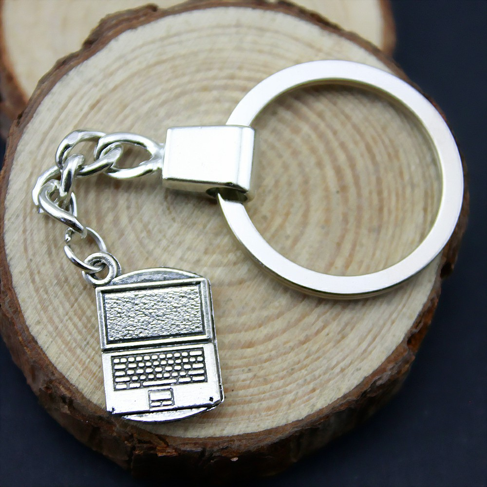 Laptop Computer Keychain Souvenirs Key Holder Wedding Favors And Gifts For Guest Party Favors Festive Party Supplies YB11811