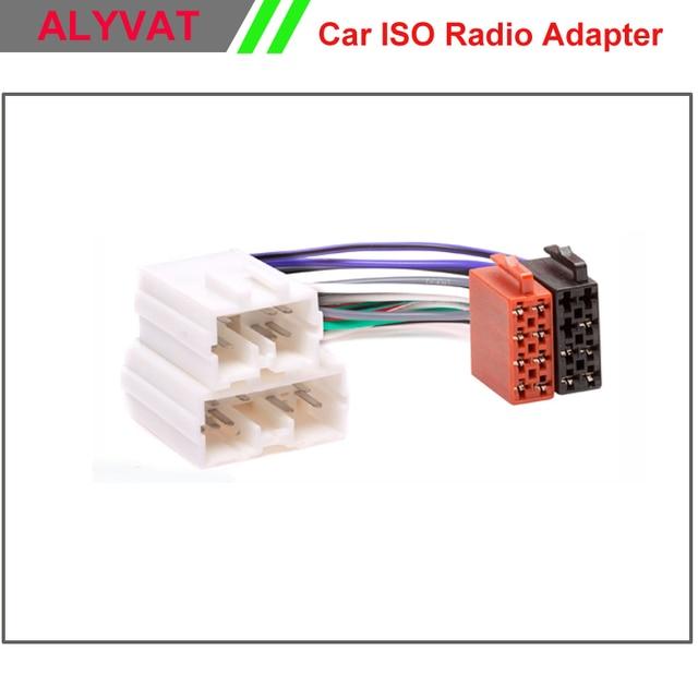 Car ISO Stereo Adapter Connector For Volvo S40 V40 S70 V70 Serie 8 ...