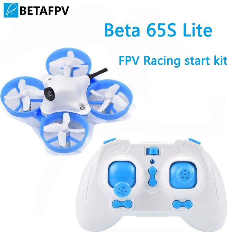 Oyuncaklar ve Hobi Ürünleri'ten Parçalar ve Aksesuarlar'de BNF/RTF Beta65S Lite Mikro Whoop Quadcopter 716 17500KV motor 260mah pil 5.8G Mikro düşük maliyetli FPV Yarış Drone'da  Grup 1