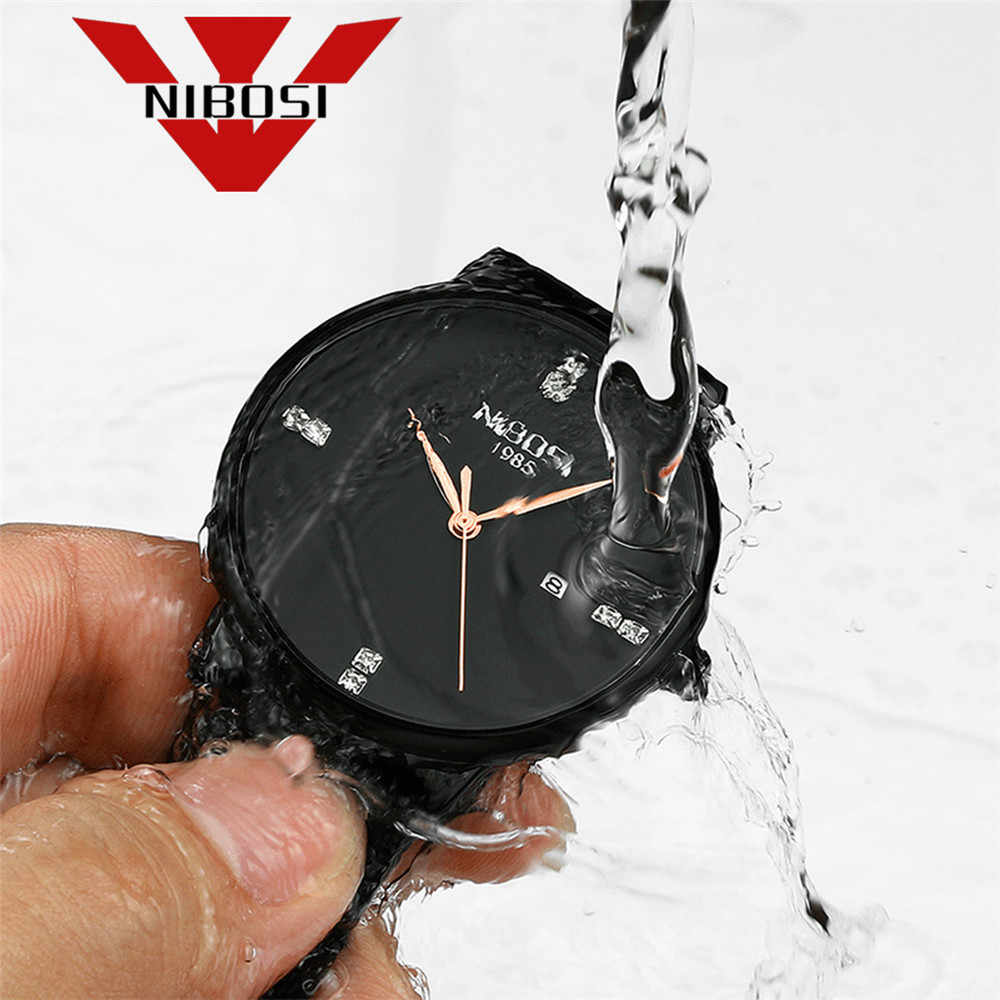 Reloj deportivo NIBOSI para hombre, relojes de lujo a prueba de agua, reloj de cuarzo con esfera ultrafina, reloj Casual, reloj Masculino 2019