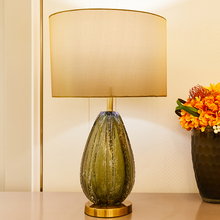 Nordic Crystal Table Lamps For Living Room LED Lamp Vase Glass The Bedroom Bedside