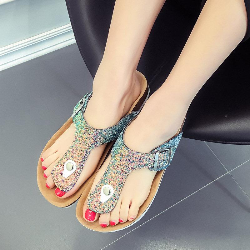 Women Sandals Bohemian Muffin Slope With Sandals Women's Slippers zapatos mujer Summer Shoes Woman Summer Sexy Flip Flops стоимость