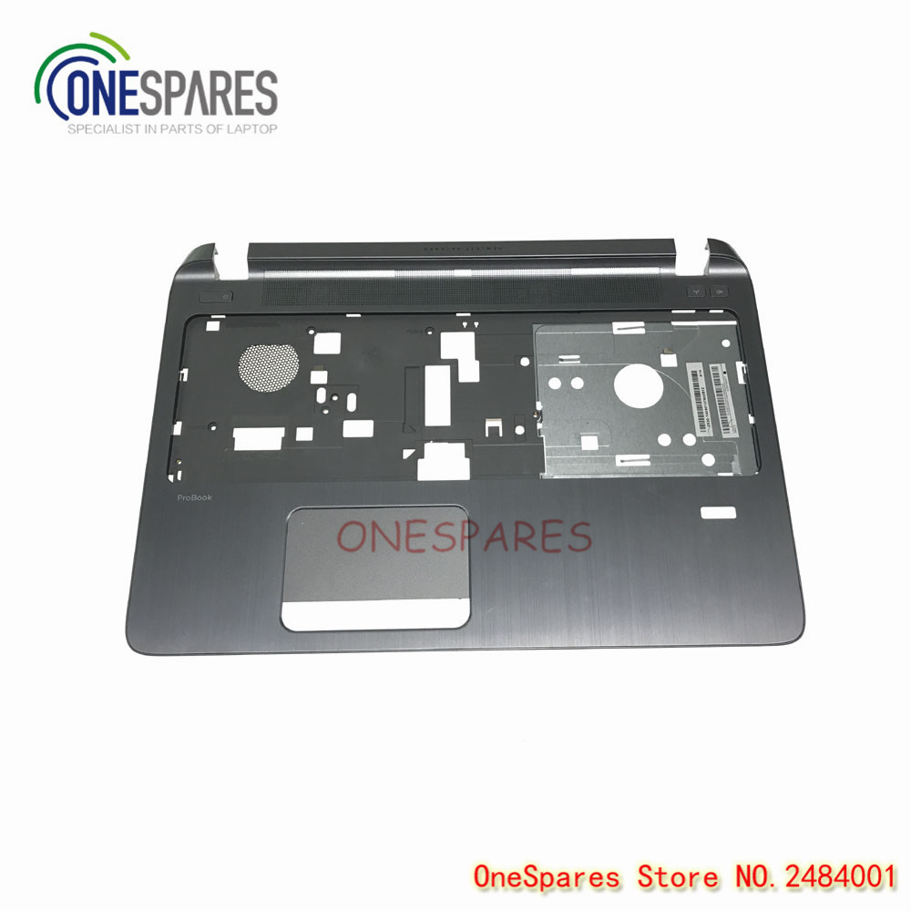 NEW Laptop Bottom TOP CASE Cover for HP for Probook 450 G2 Palmrest cover Bezel touchpad Shell 768139-001 AP15A000410