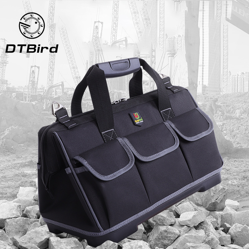 Portable Waterproof Tool Bags Large Capacity Bag Tools Multi-function Maintenance Installation Thickening Tool Bag Work Pocket