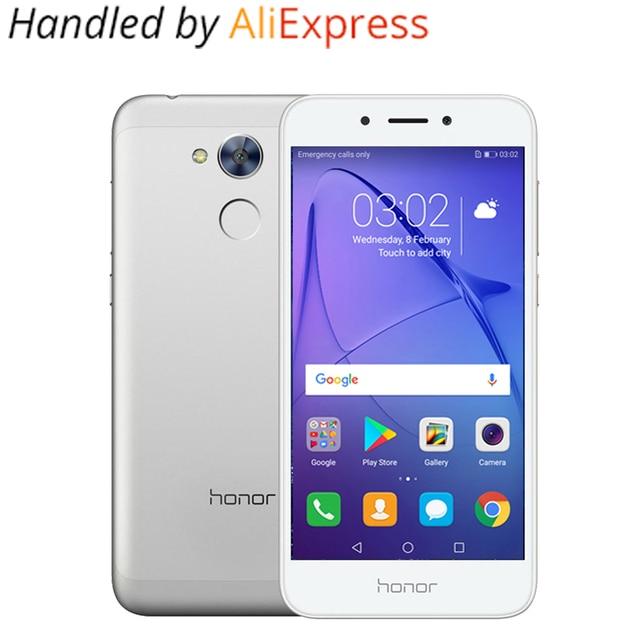 Глобальной прошивки Huawei Honor 6A play 2 г 16 г оригинальный мобильный телефон Octa core android 7.0 5.0 дюймов отпечатков пальцев ID