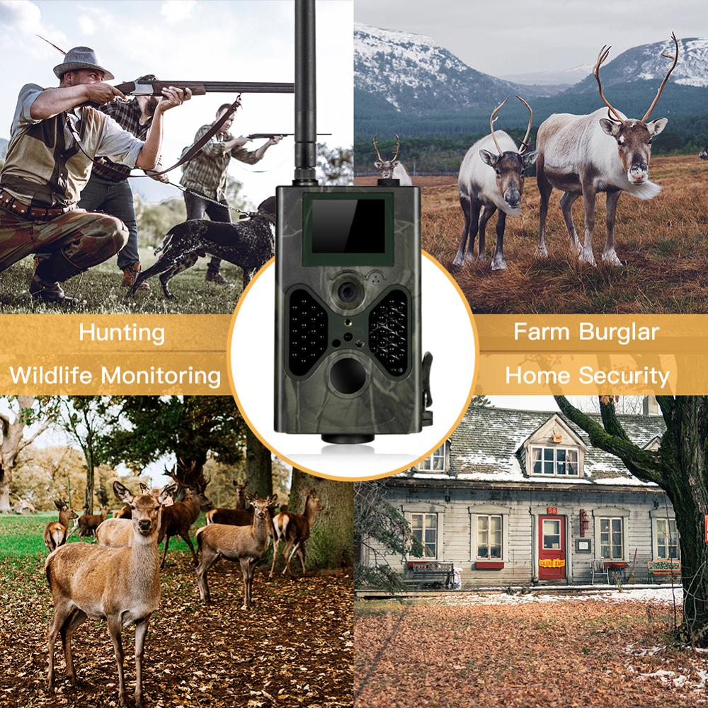 Image 5 - SUNTEKCAM HC 330G 16MP 940nm Night Vision Hunting Camera MMS Trail Camera SMS GSM GPRS 3G Camera Trap Photo Trap Wild Cameras-in Hunting Cameras from Sports & Entertainment